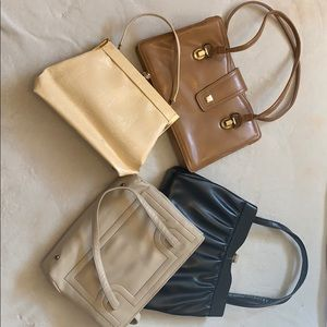 Lot of 4 Great Condition vintage Purses